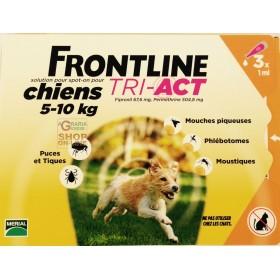 FRONTLINE PESTICIDE FLEAS TICKS TRI-ACT 5 - 10 KG.