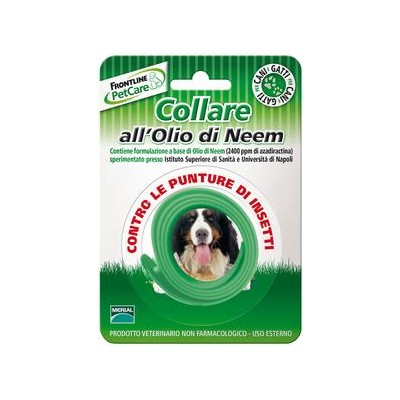 FRONTLINE ANTI-PUNCTURE COLLAR WITH NEEM OIL FOR DOGS AND CATS