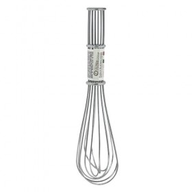 CHROME-PLATED IRON WIRE WHIP cm. 30