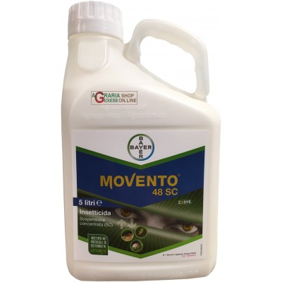 BAYER MOVENTO 48 SC INSECTICIDE BASED SPIROTETRAMAT lt. 5