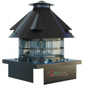 SMOKE EXTRACTOR ELECTRIC FOR TERMINAL CHIMNEY FROM 32x32 TO 42x42