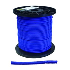 ELASTIC ROPE MM. 4 OF BLUE COLOR MT. 100