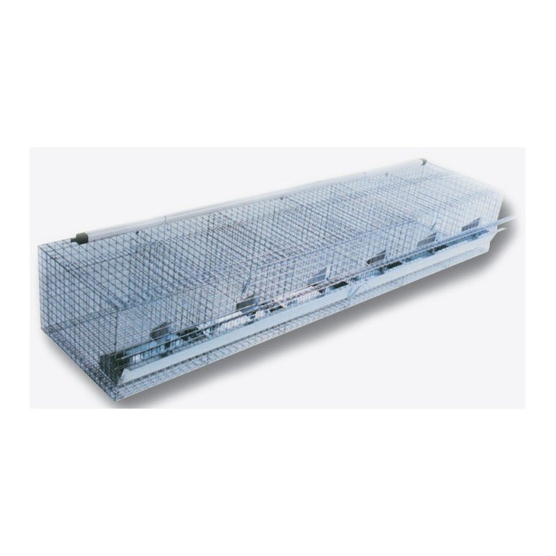 Gabbia cestello per conigli ingrasso posti 18 cm 180 for Conigliera da interno