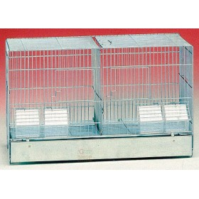 HATCHING CAGE FOR CANARY BIRDS WITH SHEET BOTTOM 320-55-12 CM. 55 X 27 X 35