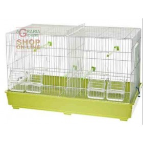 HATCHING CAGE FOR CANARY BIRDS WITH PLASTIC BOTTOM 58 x 32 x 37 cm