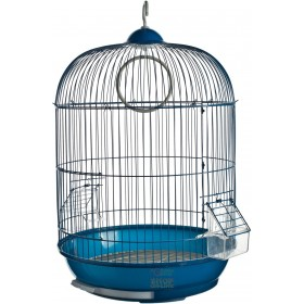 CAGE FOR CANARIES MODEL BIELLA CM. 35 X 28 X 46H. BLUE COLOR