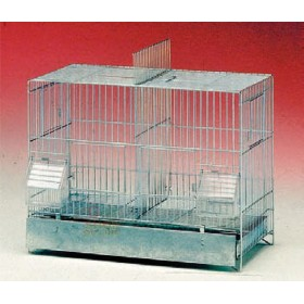 BIRD CAGE WITH SHEET BOTTOM 320 / 42-12 CM. 42 X 24 X 33 H.
