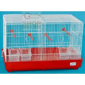 CAGE FOR BIRDS HATCHING 2 PLACES CM. 55X32X36H