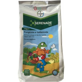 BAYER SERENADE MAX FUNGICIDE AND ANTIBOTRITIC BACTERICIDE ALLOWED IN ORGANIC AGRICULTURE BASED ON Bacillus subtilis KG. 1