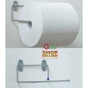 GALVANIZED HOOK PAPER ROLL HOLDER DOUBLE U MM.200X290 ART.4020