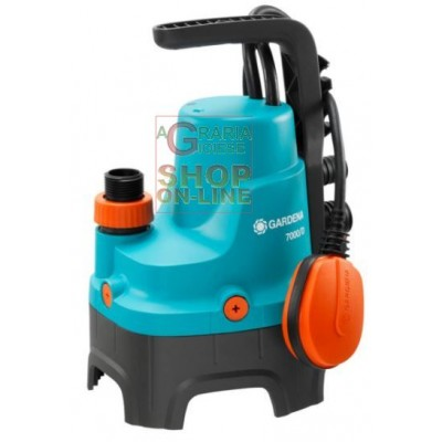 GARDENA SUBMERSIBLE ELECTRIC PUMP 7000 / D FOR DIRTY WATER