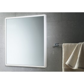 GEDY ART. 8000 MIRROR WITHOUT LIGHTS WHITE CM. 55x60