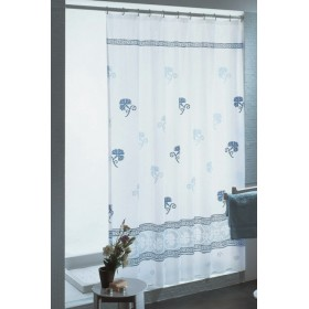 GEDY SHOWER CURTAIN DIS. 413 LACES 120PER 200
