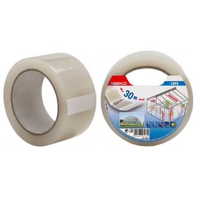 GEKO TRANSPARENT TAPE FOR GREENHOUSES MM. 50x30mt.