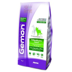 GEMON FOOD FOR DOGS MEDIUM ADULT WITH LAMB-RICE KG. 3