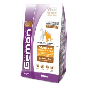 GEMON FOOD FOR DOGS MEDIUM PUPPY JUNIOR WITH CHICKEN AND RICE KG. 3
