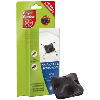 BAYER SOLFAC GEL TRAPS FOR COCKROACHES PCS. 2