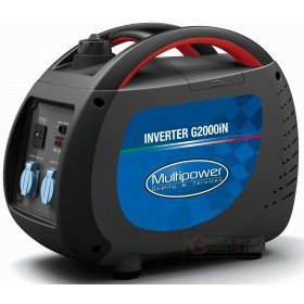 PROFESSIONAL MULTIPOWER G2000iN KVA 1,6 PORTABLE INVERTER GENERATOR