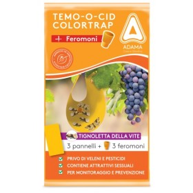 ADAMA TEMOOCID ADHESIVE TRAPS COLORTRAP YELLOW WITH FERORMONE FOR THE VINE MOTH