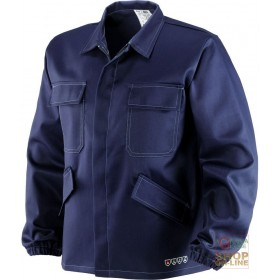 JACKET IN FIREPROOF ANTI-ACID ANTISTATIC FABRIC IN POLYESTER