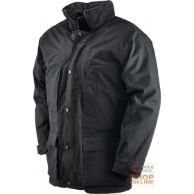 JACKET IN POLYESTER COTTON COATED IN PVC PADDED IN POLYESTER COLOR BLACK SIZE SML XL XXL