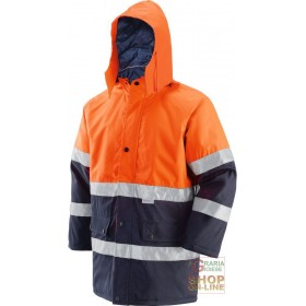GB TEX FABRIC JACKET WITH 3M BAND PADDING EN 471 EN 343 COLOR