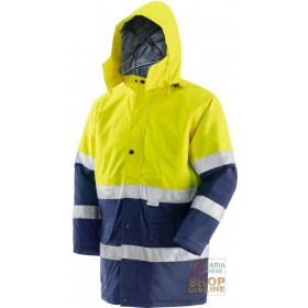 GB TEX FABRIC JACKET WITH 3M EN 471 EN 343 BAND PADDING COLOR