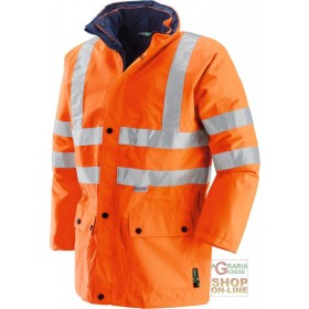 JACKET IN GB TEX TRIPLE USE FABRIC BANDS 3M EN 471 EN 343 COLOR