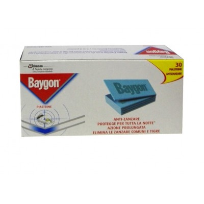 BAYGON INSECTICIDE PROTECTION ANTI MOSQUITO PLATES 30 PCS