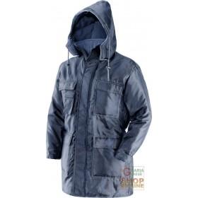 ISOTHERMAL JACKET 100% POLYESTER COLOR BLUE EN 342 TG SML XL XXL