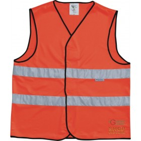GILET 100% POLYESTER WITH REFLECTIVE BANDS 3M CM 5 EN 471 CLASS