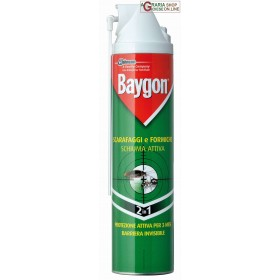 BAYGON FOAM ML. 400 COCKROACHES AND ANTS