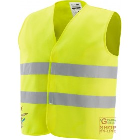 HIGH VISIBILITY VEST FOR CHILDREN IN POLYESTER WITH REFLECTIVE