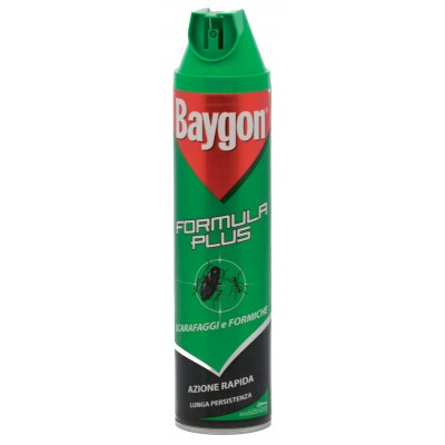 BAYGON GREEN SPRAY COCKROACHES AND ANTS ML. 400