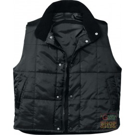 PADDED NYLON VEST COLOR BLACK TG SML XL XXL