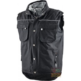 VEST IN POLYESTER PVC PADDED IN POLYESTER COLOR BLACK TG ML XL XXL