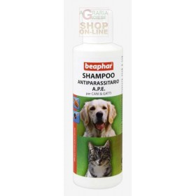 BEAPHAR PESTICIDE SHAMPOO BEE FOR DOGS AND CATS AGAINST FLEAS AND TICKS ML. 200