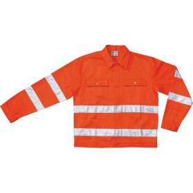 ORANGE MOLESKIN JACKET SIZE MA 3XL