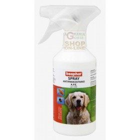 BEAPHAR SPRAY ANTIPARASITARY BEE FOR DOGS AGAINST TICKS AND FLEAS ML. 200
