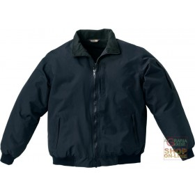 JACKET IN NYLON POLYURETHANE LINED IN FLEECE COLOR BLUE TG M XXL