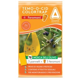 ADAMA TEMOOCID ADHESIVE TRAPS COLORTRAP PLUS WITH FERORMON FOR
