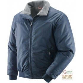 POLY PU JACKET LINED IN FLEECE COLOR BLUE TG S XXL
