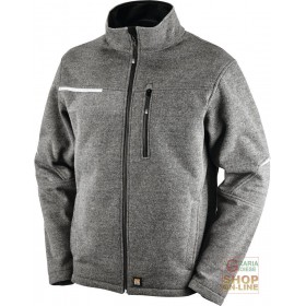 TECHNICAL JACKET IN ACRYLIC WOOL GRAY COLOR SIZE S XXL