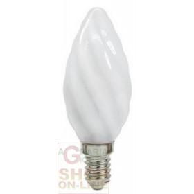 BEGHELLI LAMPADA A LED 56921 TORTIGLIONE E14 2,5W LUCE FREDDA