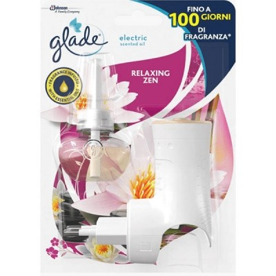 GLADE ESSENTIAL OIL ELECTRIC DIFFUSER WITH RELAXING ZEN REFILL