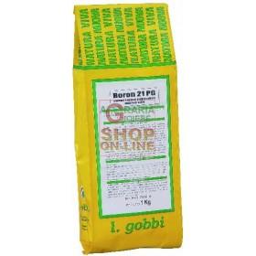 GOBBI BORON 21 PG WATER SOLUBLE FERTILIZER BORON 21%