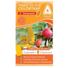 ADAMA TEMOOCID ADHESIVE TRAPS COLORTRAP PLUS WITH FERORMON FOR MELO CARPOCAPS