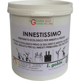 GOBBI INNESTISSIMO ECOLOGICAL PREPARATION FREE OF SOLVENTS AND ADDITIVES FOR GRAFTING FRUIT TREES IN SPRING KG. 1