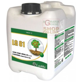 GOBBI LG 81 MIXTURE OF ENZYMES AND METABOLITES ROOTING STIMULANT KG. 12