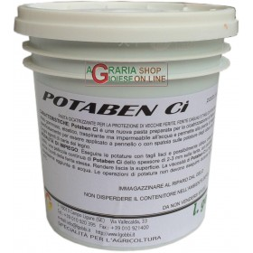 GOBBI POTABEN CI HEALING AND DISINFECTANT PASTE FOR WOUNDS AND PRUNING CUTS GR. 500